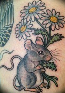 фото тату крыса от 27.07.2017 №062 - Rat tattoo_tattoo-photo.ru