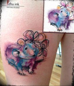 фото тату крыса от 27.07.2017 №068 - Rat tattoo_tattoo-photo.ru