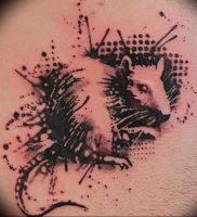 фото тату крыса от 27.07.2017 №079 — Rat tattoo_tattoo-photo.ru