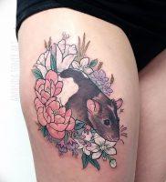 фото тату крыса от 27.07.2017 №085 — Rat tattoo_tattoo-photo.ru