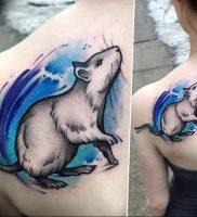 фото тату крыса от 27.07.2017 №094 — Rat tattoo_tattoo-photo.ru