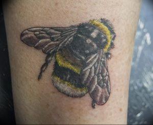 фото тату шмель от 29.07.2017 №011 - Tattoo bumblebee_tattoo-photo.ru