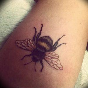 фото тату шмель от 29.07.2017 №038 - Tattoo bumblebee_tattoo-photo.ru