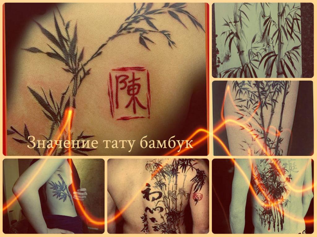 Значение тату бамбук - фото примеры готовых рисунков татуировки