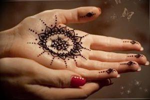 фото Мехенди мандала от 02.08.2017 №056 - Mehendi Mandala_tattoo-photo.ru