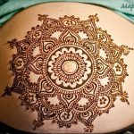 фото Мехенди мандала от 02.08.2017 №105 - Mehendi Mandala_tattoo-photo.ru