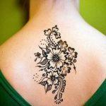 фото Мехенди цветы от 18.08.2017 №020 - Mehendi flowers_tattoo-photo.ru