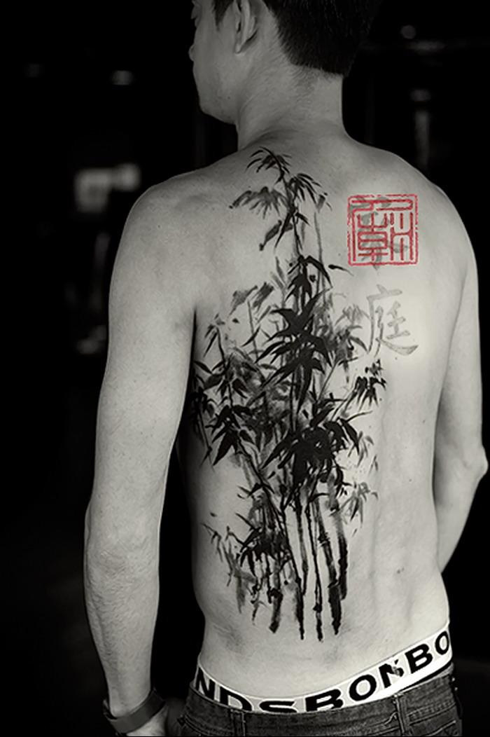 chinese calligraphy tattoo bamboo tattoo stamp tattoo - 399×600