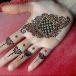 фото Рисунки мехенди на руке от 02.10.2017 №004 - mehendi on hand - tattoo-photo.ru