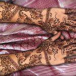 фото Рисунки мехенди на руке от 02.10.2017 №011 - mehendi on hand - tattoo-photo.ru