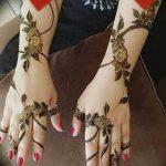фото Рисунки мехенди на руке от 02.10.2017 №013 - mehendi on hand - tattoo-photo.ru