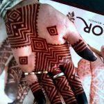 фото Рисунки мехенди на руке от 02.10.2017 №019 - mehendi on hand - tattoo-photo.ru