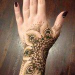 фото Рисунки мехенди на руке от 02.10.2017 №023 - mehendi on hand - tattoo-photo.ru