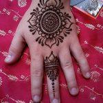 фото Рисунки мехенди на руке от 02.10.2017 №025 - mehendi on hand - tattoo-photo.ru