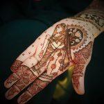 фото Рисунки мехенди на руке от 02.10.2017 №027 - mehendi on hand - tattoo-photo.ru й523523