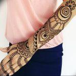фото Рисунки мехенди на руке от 02.10.2017 №031 - mehendi on hand - tattoo-photo.ru