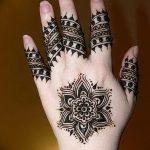 фото Рисунки мехенди на руке от 02.10.2017 №039 - mehendi on hand - tattoo-photo.ru
