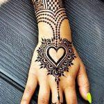 фото Рисунки мехенди на руке от 02.10.2017 №049 - mehendi on hand - tattoo-photo.ru