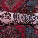 фото Рисунки мехенди на руке от 02.10.2017 №069 - mehendi on hand - tattoo-photo.ru