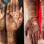 фото Рисунки мехенди на руке от 02.10.2017 №077 - mehendi on hand - tattoo-photo.ru