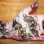 фото Рисунки мехенди на руке от 02.10.2017 №092 - mehendi on hand - tattoo-photo.ru