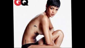 фото Тату Рианны от 30.09.2017 №017 - Rihanna Tattoo - tattoo-photo.ru