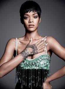 фото Тату Рианны от 30.09.2017 №038 - Rihanna Tattoo - tattoo-photo.ru 12415123