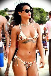 фото Тату Рианны от 30.09.2017 №038 - Rihanna Tattoo - tattoo-photo.ru 12415123 2462