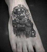 фото тату Чумной Доктор от 04.10.2017 №002 — tattoo Plague Doctor — tattoo-photo.ru
