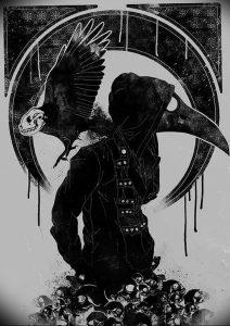 фото тату Чумной Доктор от 04.10.2017 №005 - tattoo Plague Doctor - tattoo-photo.ru