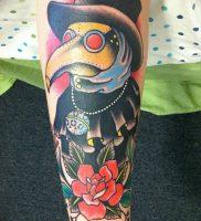 фото тату Чумной Доктор от 04.10.2017 №087 — tattoo Plague Doctor — tattoo-photo.ru