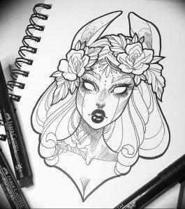 фото тату губы рисунок от 30.09.2017 №013 - tattoo lips drawing - tattoo-photo.ru