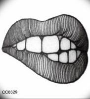 фото тату губы рисунок от 30.09.2017 №101 — tattoo lips drawing — tattoo-photo.ru