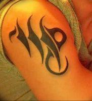 фото тату знак зодиака Дева от 30.09.2017 №006 — tattoo zodiac sign Virgo — tattoo-photo.ru