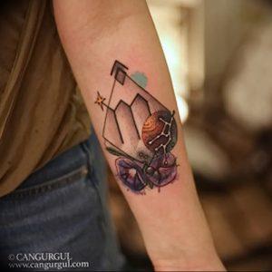 фото тату знак зодиака Дева от 30.09.2017 №030 - tattoo zodiac sign Virgo - tattoo-photo.ru