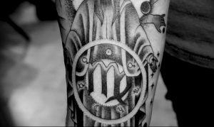 фото тату знак зодиака Дева от 30.09.2017 №060 - tattoo zodiac sign Virgo - tattoo-photo.ru