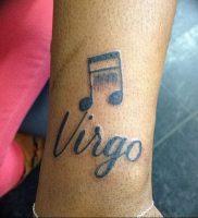 фото тату знак зодиака Дева от 30.09.2017 №078 — tattoo zodiac sign Virgo — tattoo-photo.ru