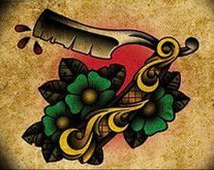 фото тату лезвие (опасная бритва) от 08.09.2017 №014 - tattoo dangerous razor