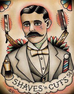 фото тату лезвие (опасная бритва) от 08.09.2017 №027 - tattoo dangerous razor