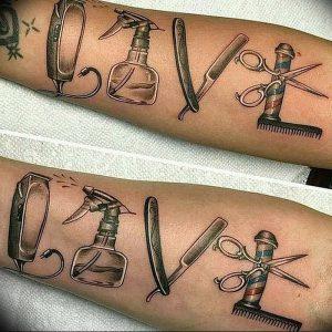 фото тату лезвие (опасная бритва) от 08.09.2017 №048 - tattoo dangerous razor