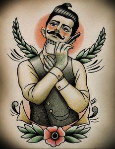 фото тату лезвие (опасная бритва) от 08.09.2017 №050 - tattoo dangerous razor
