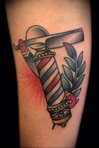 фото тату лезвие (опасная бритва) от 08.09.2017 №055 - tattoo dangerous razor