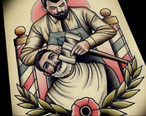 фото тату лезвие (опасная бритва) от 08.09.2017 №058 - tattoo dangerous razor