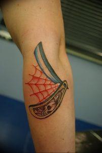 фото тату лезвие (опасная бритва) от 08.09.2017 №072 - tattoo dangerous razor