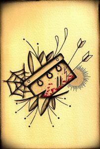 фото тату лезвие (опасная бритва) от 08.09.2017 №091 - tattoo dangerous razor