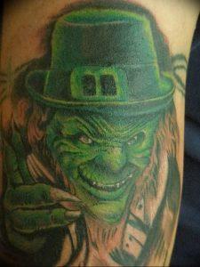 фото тату лепрекон от 04.10.2017 №011 - tattoo leprechaun - tattoo-photo.ru