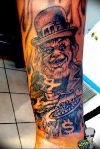 фото тату лепрекон от 04.10.2017 №017 - tattoo leprechaun - tattoo-photo.ru