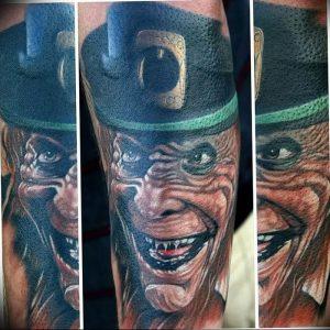 фото тату лепрекон от 04.10.2017 №018 - tattoo leprechaun - tattoo-photo.ru