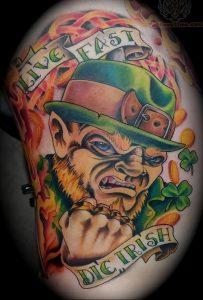 фото тату лепрекон от 04.10.2017 №019 - tattoo leprechaun - tattoo-photo.ru