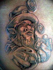 фото тату лепрекон от 04.10.2017 №029 - tattoo leprechaun - tattoo-photo.ru